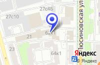 Схема проезда до компании ПО ВОЛЬНОЙ БОРЬБЕ ДЮСШ в Москве