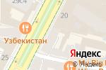 Схема проезда до компании Sarah Pacini в Москве