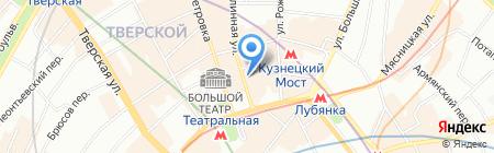 Люкс-сервис на карте Москвы