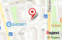 Схема проезда до компании ТД Милан в Москве