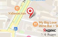Схема проезда до компании Мако Полиграфия в Москве