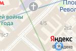 Схема проезда до компании Психологический кабинет Ольга Кривова в Москве