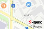 Схема проезда до компании Автосервис по ремонту глушителей в Москве