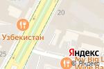 Схема проезда до компании Новый горизонт в Москве