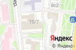 Схема проезда до компании NRparts в Москве