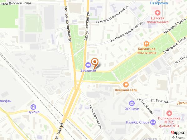 Остановка Калибровская ул. в Москве