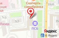Схема проезда до компании Аликонстрейд К в Москве