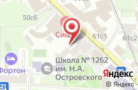 Схема проезда до компании Стройинжгрупп в Москве