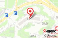 Схема проезда до компании Изида в Москве