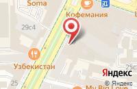 Схема проезда до компании Вэлнес-Империя в Москве