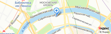 Подводтрубопроводстрой на карте Москвы