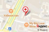 Схема проезда до компании Белинда-Медиа в Москве