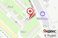 Схема проезда до компании Свк Систем в Москве