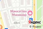 Схема проезда до компании Kreativ77 в Москве