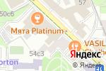 Схема проезда до компании Стройновация в Москве