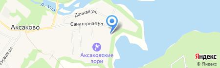Подмосковье на карте Аксаково