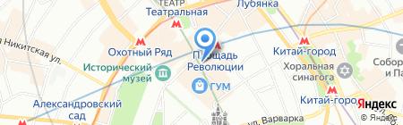 Red Mango на карте Москвы