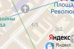 Схема проезда до компании Rezat.ru в Москве