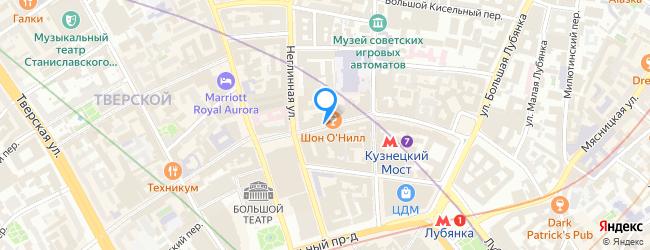 улица Кузнецкий Мост