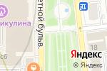 Схема проезда до компании Французская пекарня в Москве