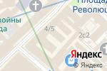 Схема проезда до компании Babochki.su в Москве