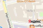 Схема проезда до компании Трансаэро Тур в Москве