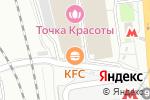 Схема проезда до компании TOP SHOP в Москве
