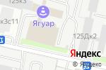 Схема проезда до компании Meridio в Москве