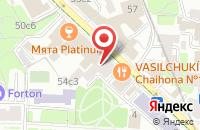 Схема проезда до компании Динамик Принт в Москве