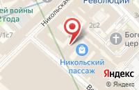 Схема проезда до компании Рускоинс в Москве