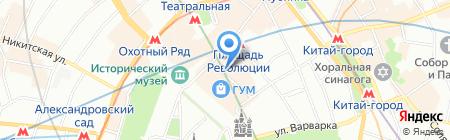 Галерея пассаж на карте Москвы