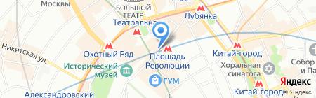 Малинки Клаб на карте Москвы