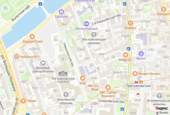 жилой комплекс Лаврушинский 11