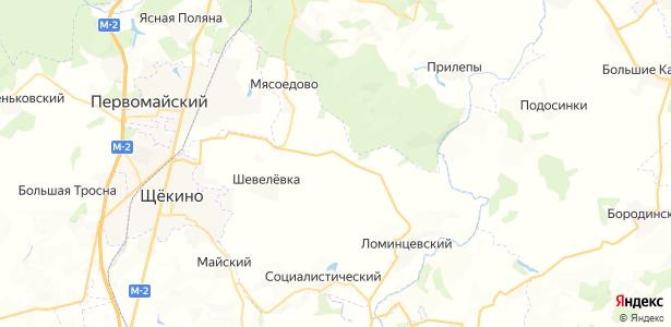 Малая Кожуховка на карте