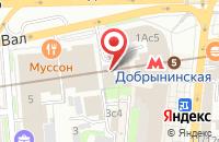 Схема проезда до компании Реноме в Москве