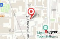 Схема проезда до компании ФинансГрупп в Москве