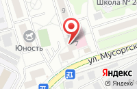 Схема проезда до компании ИнтерКом в Москве