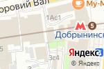 Схема проезда до компании Шелтон в Москве