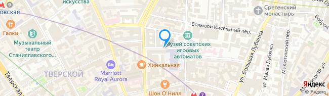 Сандуновский переулок