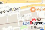 Схема проезда до компании Кремень в Москве
