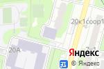 Схема проезда до компании Складской комплекс в Москве