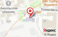 Схема проезда до компании Кит Плюс в Москве