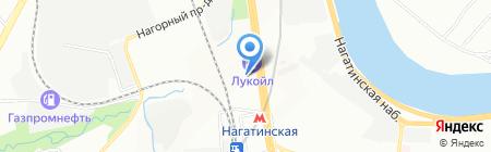 Арт печати на карте Москвы