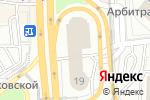 Схема проезда до компании A`style в Москве