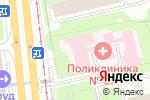 Схема проезда до компании Городская поликлиника №67 в Москве