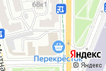 Схема проезда до компании Марчелло Готти в Москве