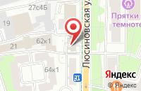 Схема проезда до компании Стеллариум в Москве