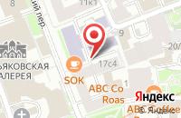 Схема проезда до компании Гарант-Регион в Москве