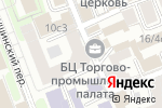 Схема проезда до компании Нанофито в Москве