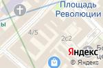 Схема проезда до компании Русский сувенир в Москве
